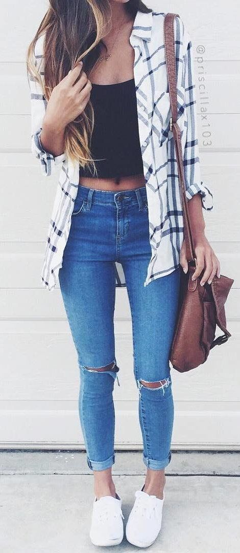 40 Gorgeous Summer Outfits To Update Your Wardrobe Flannel