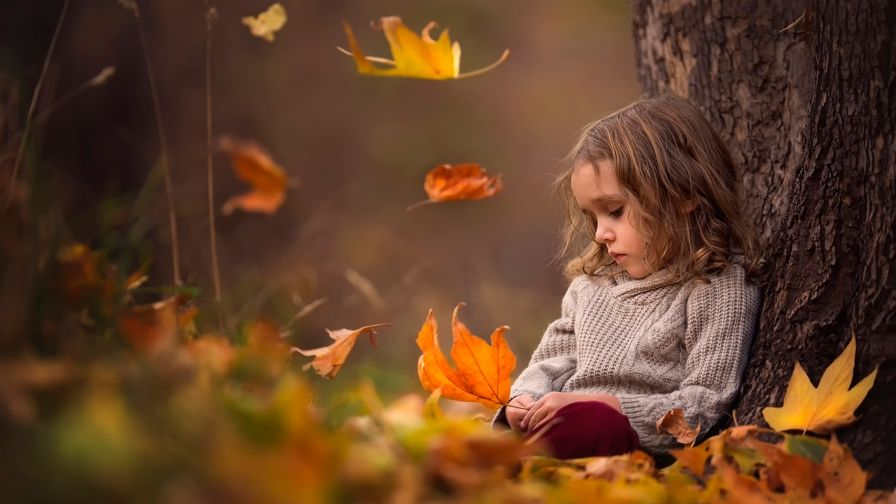 beautiful small girl hd wallpaper download high definition