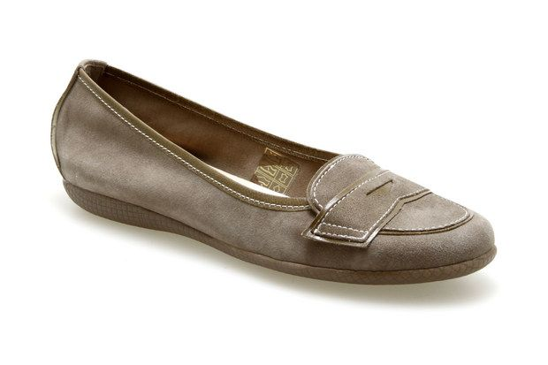 Ballerines COCO ET ABRICOT 4267 Taupe - Chaussures femme