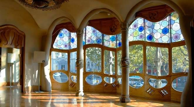 gaudi house interior - photo #3