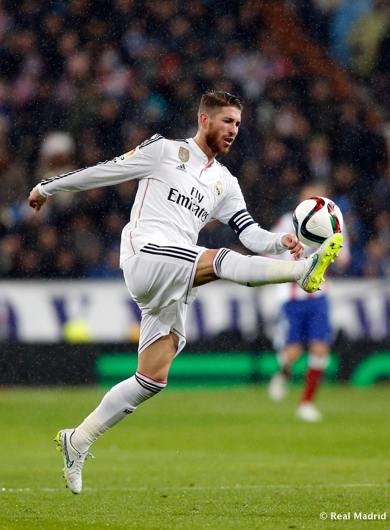 Sergio Ramos Of Real Madrid In Action During The Copa Del Rey Round Of 16 Second Leg Match Between Real Madrid And Atletico De Real Madrid Sergio Ramos Madrid