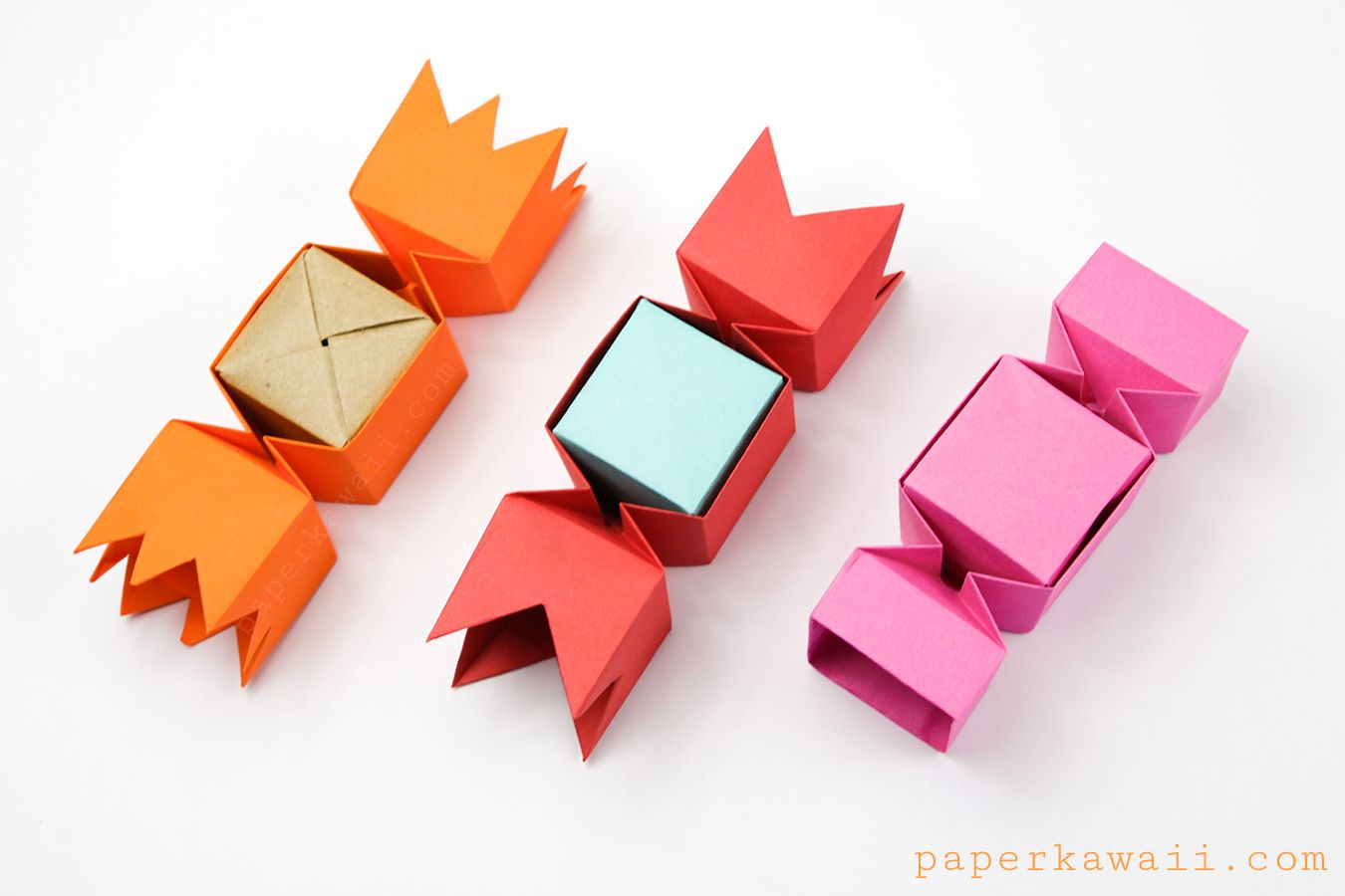 Square Origami Candy Box Instructions Paper Kawaii Origami Candy Box Origami Gift Box Origami Candy