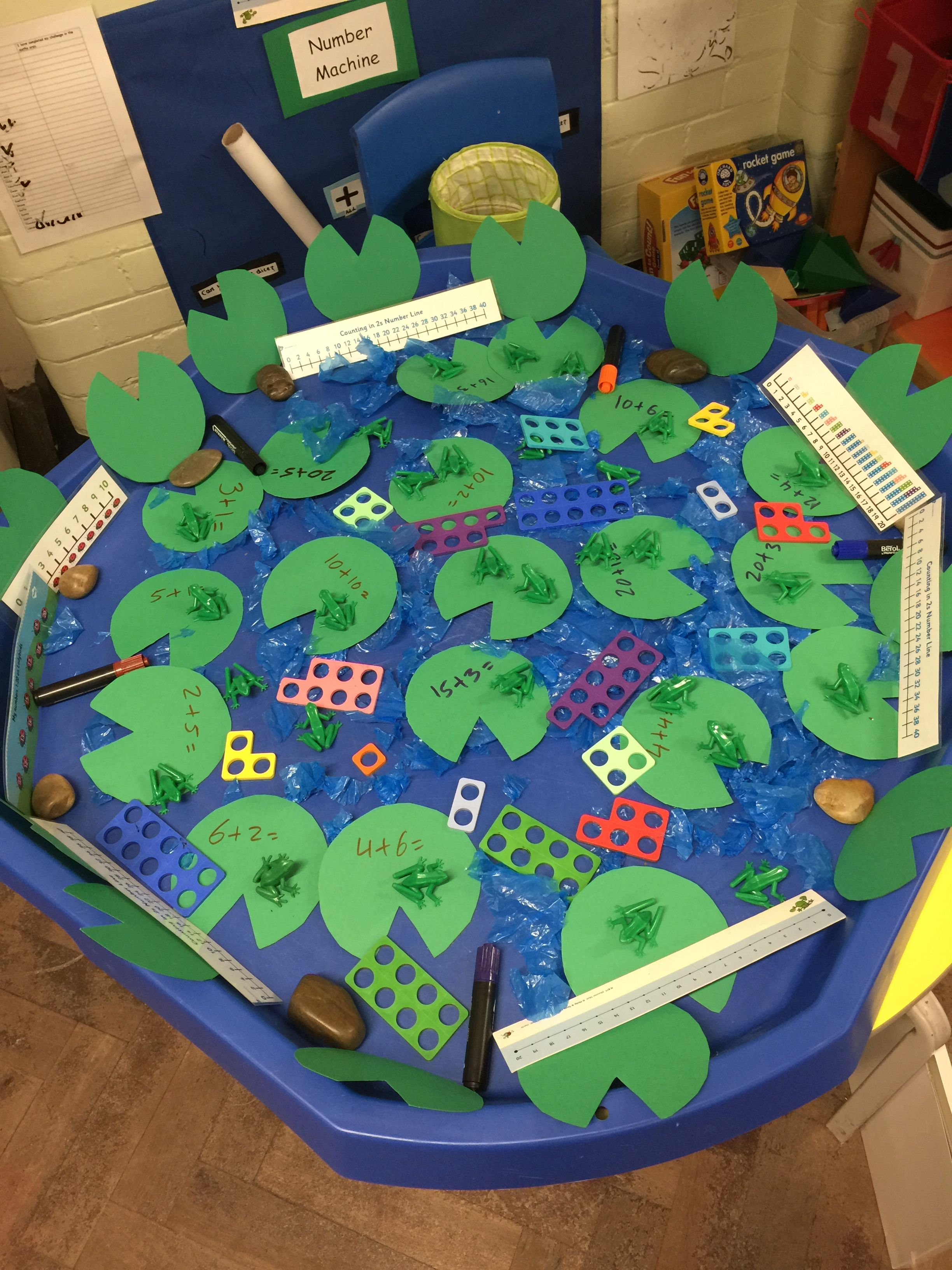 A Fun Way To Explore With Numicon Children Can Work Out Adding And Taking Away With Numicon For A Prompt Reception Maths Early Years Maths Numicon Activities Adding maths games eyfs