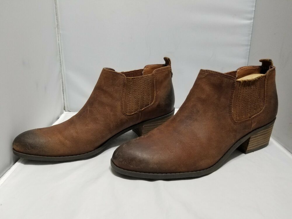 bf9eaeadf1a4bb Tommy Hilfiger Women s Natural Tan Ripley Slip Leather Bootie Shoes Size 8  1 2 M  fashion  clothing  shoes  accessories  womensshoes  boots (ebay link)