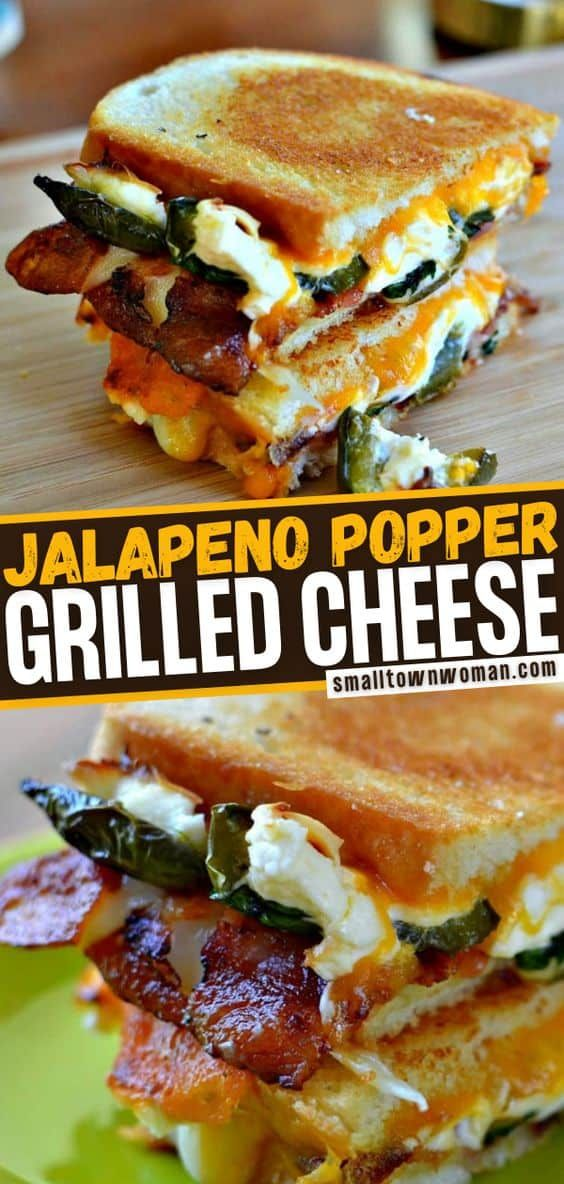 Jalapeno Popper Grilled This recipe combines two c