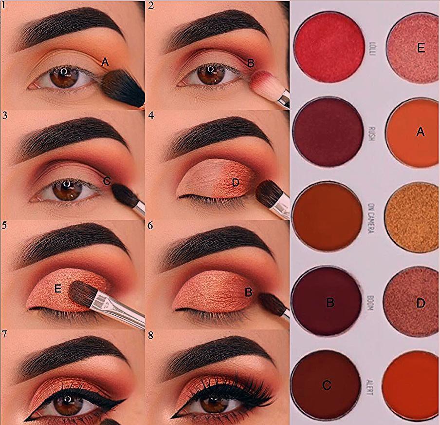 Photo of 56 tiefstes mattes Augen Make-up sieht Ideen für Anfänger Seite 44 von 56 # Anfänger …