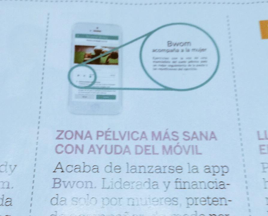 Esta semana en la revista Lecturas encontraréis una #app muy chula para cuidaros ;) #gracias por compartirnos!