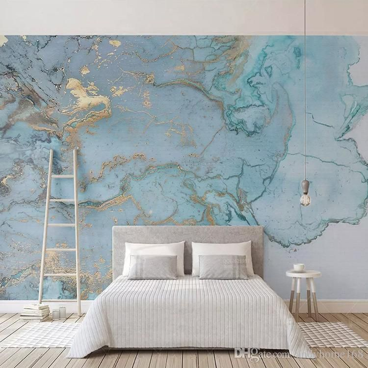 Arkadi Custom Photo Wallpapers 3d Stereo Blue Texture Marble Wall Paper Murals Living Room Tv Sofa Bedroom Study Decor Papel De Parede From Andyhome168 33 60 Wallpaper Living Room Study Decor Wallpaper Bedroom Blue wallpaper for bedroom