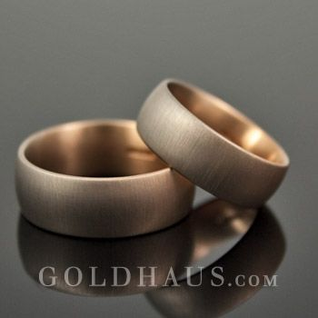 Trauringe in Platin Weigold Gelbgold Rotgold