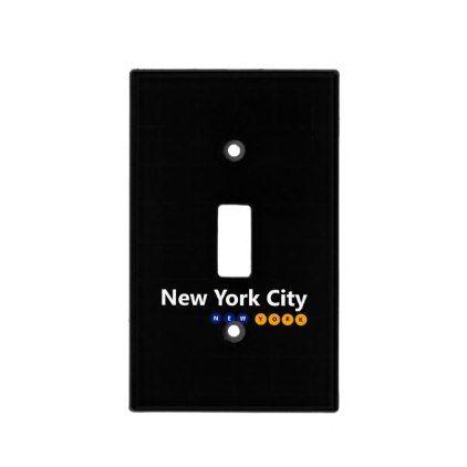 New York City Light Switch Cover