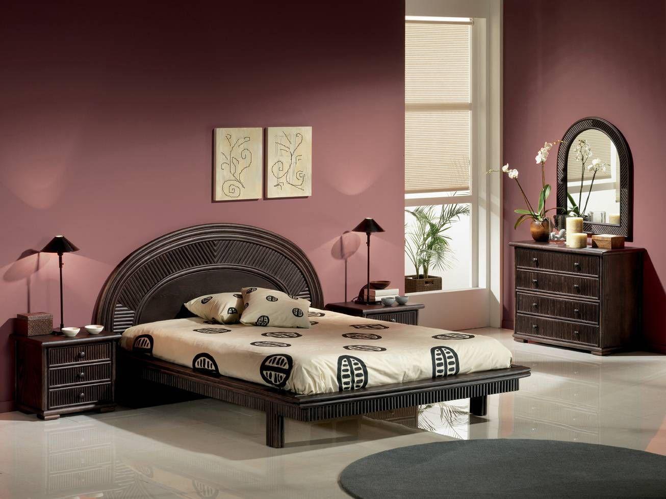 idee deco chambre meuble wenge