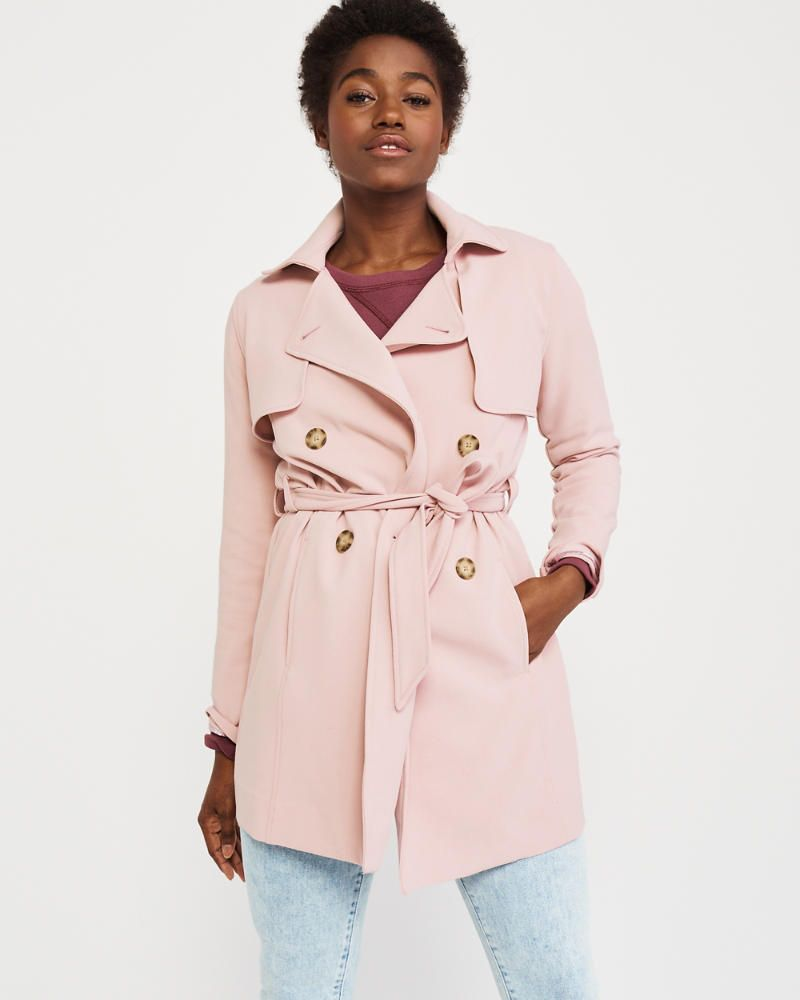 purchase cheap choose original choose best Womens Drapey Trench Coat | Womens Coats & Jackets ...