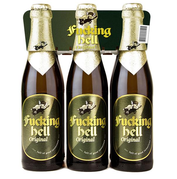 Fucking Hell: Das helle Bier aus Fucking (Österreich)  Pale Lager from Fucking (Austria)