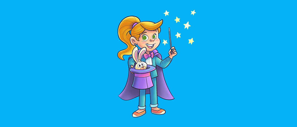 Truques de mágica podem ajudar a trabalhar a coordenação motora, a memória e a autoconfiança da criançada. Quer saber mais?