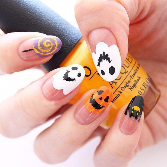 30 Spook-tacular Halloween Nail Art Ideas Thatll Blow Your Mind