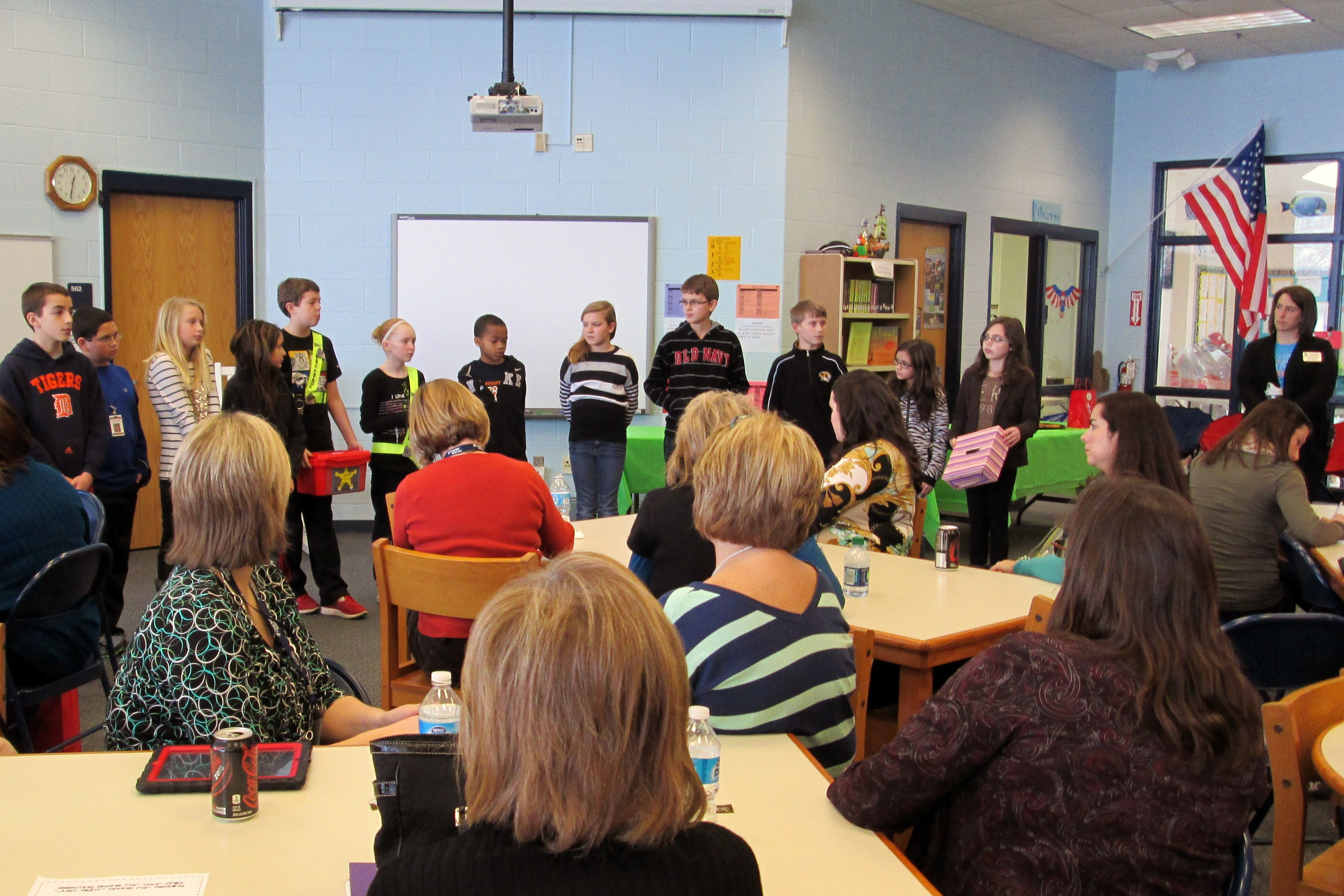 Character Plus Visits Independence Elementary