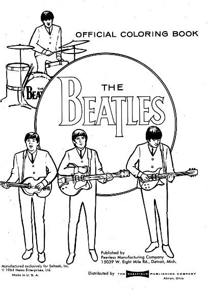 find this pin and more on coloring pages the beatles coloring book - Beatles Coloring Book