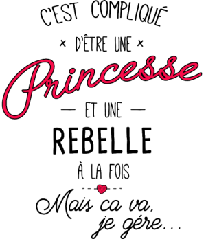 personnaliser tee shirt princesse et rebelle etc pinterest personnaliser tee shirt. Black Bedroom Furniture Sets. Home Design Ideas