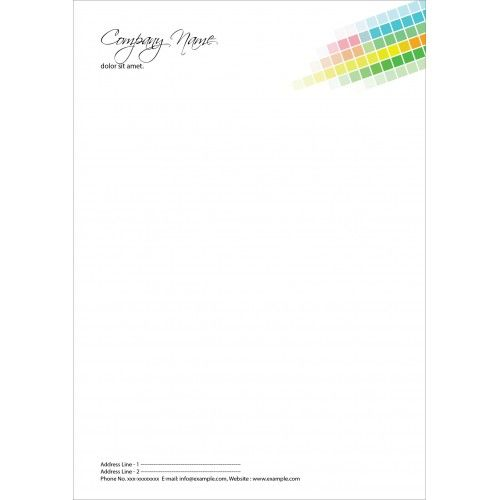 Online Printing Services LetterheadBuy Customized Letterhead