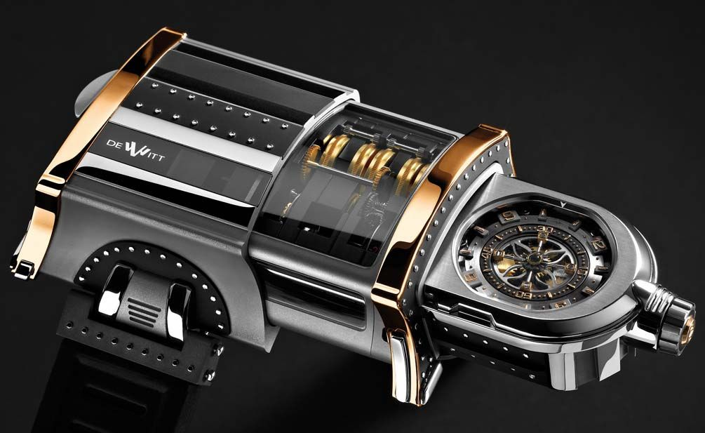Reloj. Colección Bibiana Vélez