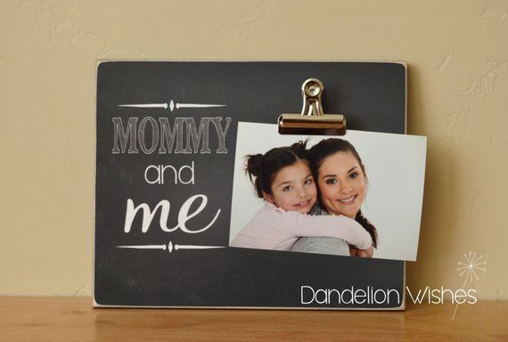 Custom Gift For Mommy Personalized Frame Christmas Gift Idea