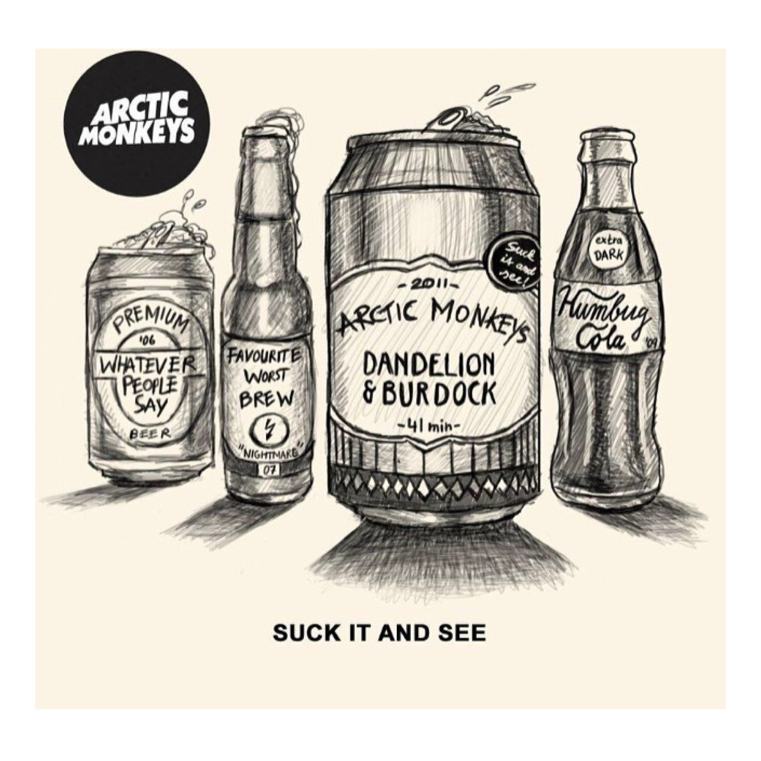 Arctic monkeys ♡ Favourite worst nightmare  Whatever people say I am that's what I'm not Humbug  Suck it and see  Am