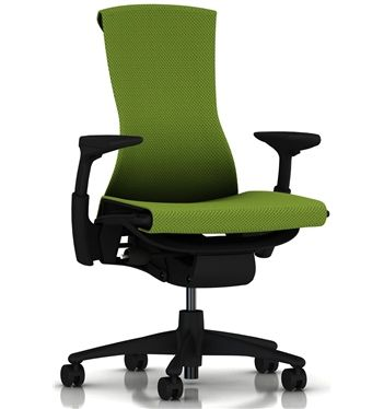 buy the herman miller embody balance office chair in green apple mesh and get free uk delivery