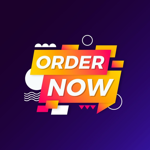 Download Order Now Banner Concept For Free Vector Free Banner Concept