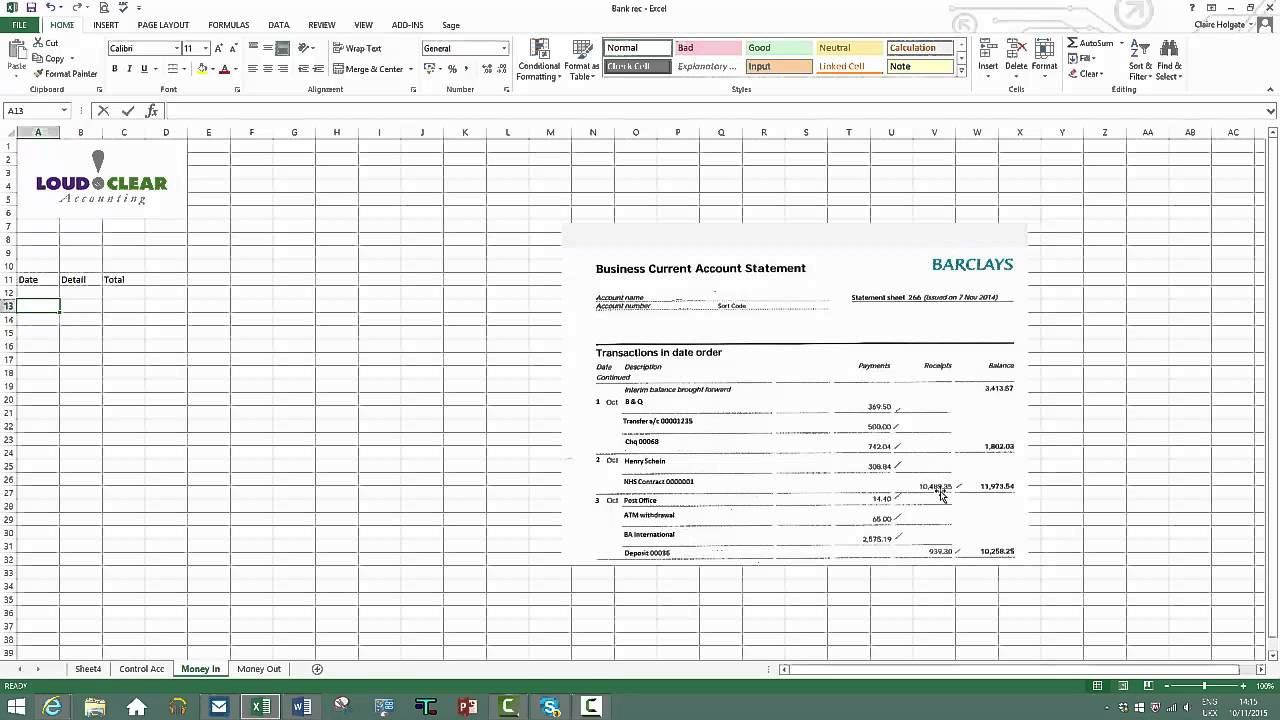 Bank Statement Reconciliation Template Best Of Bank Account Reconciliation Template Excel Mission Statement Template Statement Template Account Reconciliation