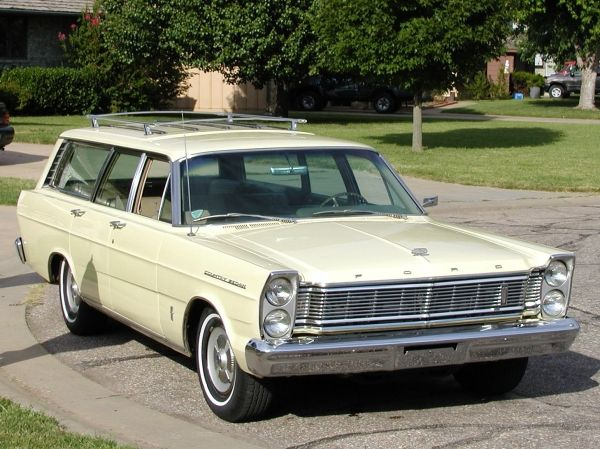 1965 Ford Fairlane 500 Station Wagon Ford Fairlane 500 Fairlane