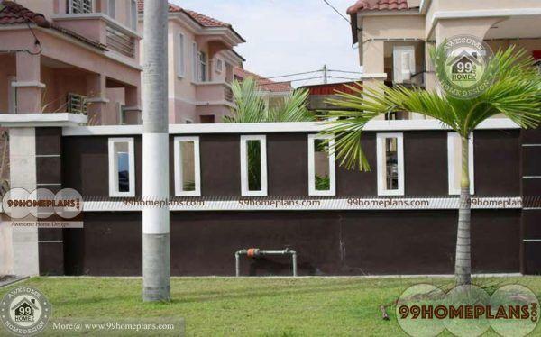 Kerala Home Boundary Wall Design