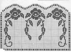 Filet crochet chair back diagrams download wiring diagrams crochet rose filet chair set grandmother s pattern book rh za pinterest com dianas crochet patterns ccuart Gallery
