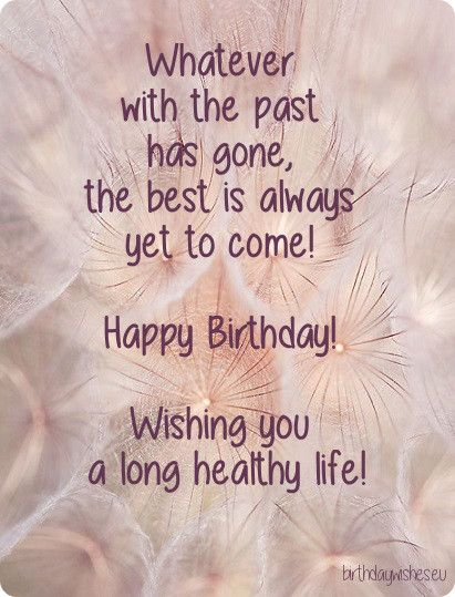 Wishing You A Long Healthy Life-wb009091 | Birthday wishes#2 ...