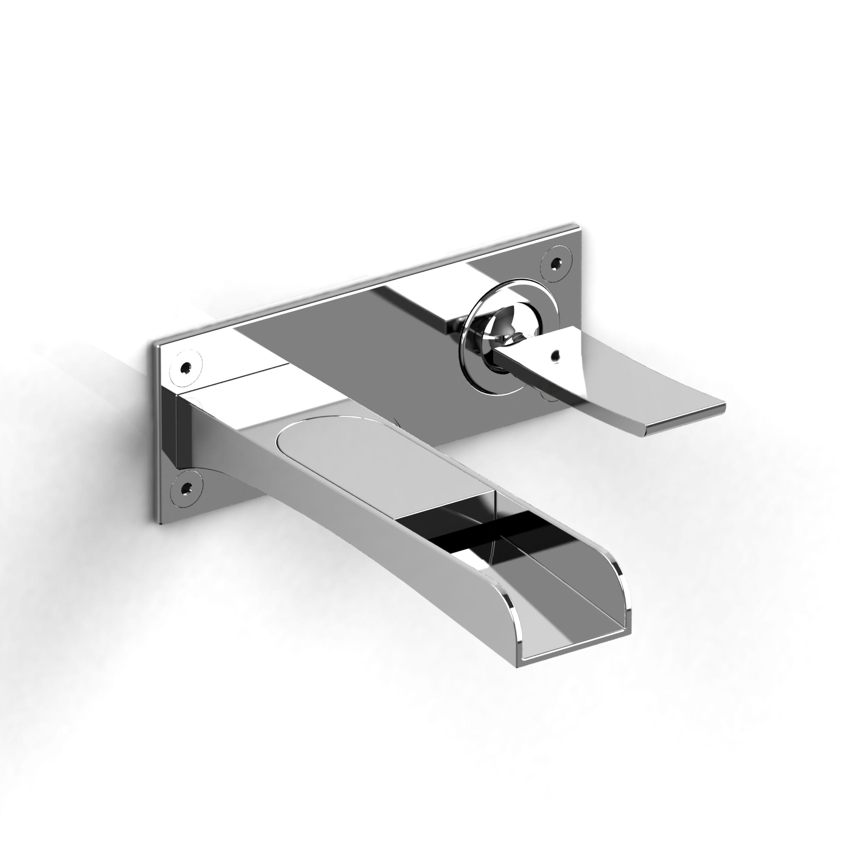 Riobel Wall-mount lavatory open spout faucet: Home Decor Store ...
