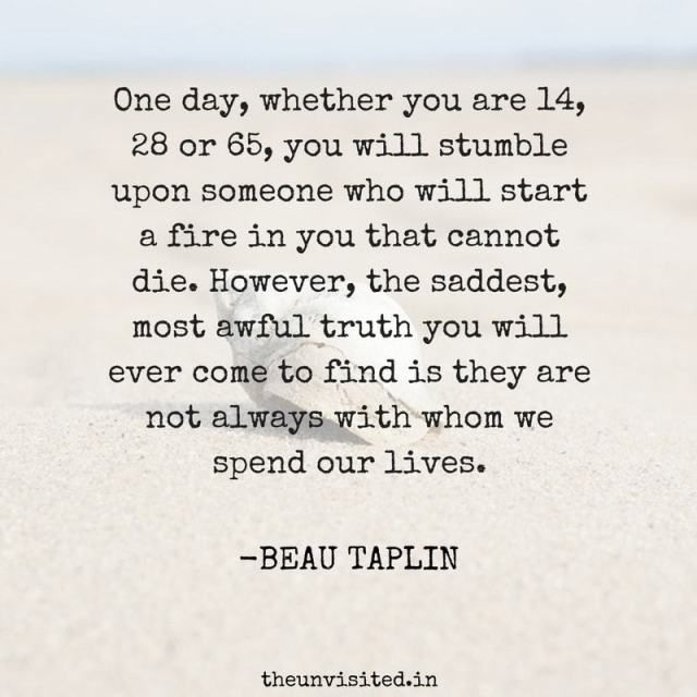 15 Intense Quotes That Explain Love, Life And Heartbreak By Beau Taplin