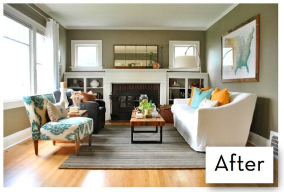 Good Dining/Living Room Makeover