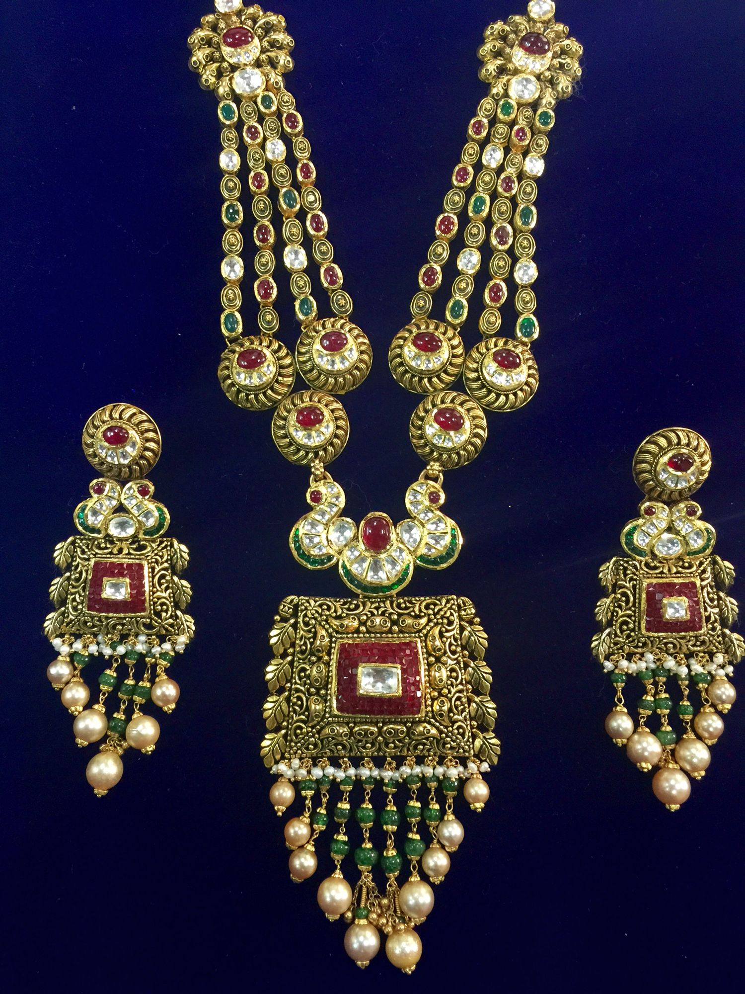 22ct jewellery Suresh Soni Pinterest Indian jewelry Gold