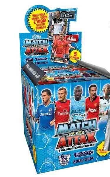 Match Attax 2013 - 2014 Booster Box.