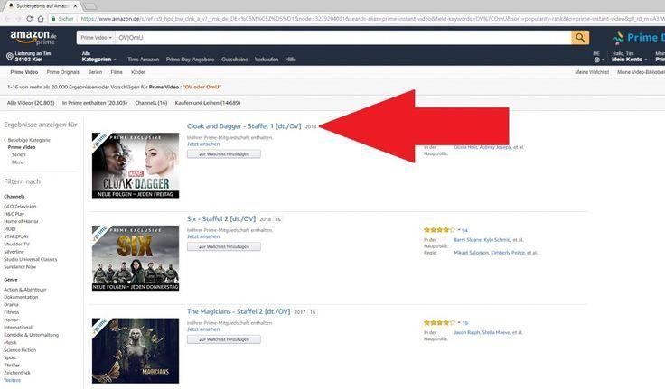 Amazon Fire Tv Filme Nach Genre  Filme nach Genre