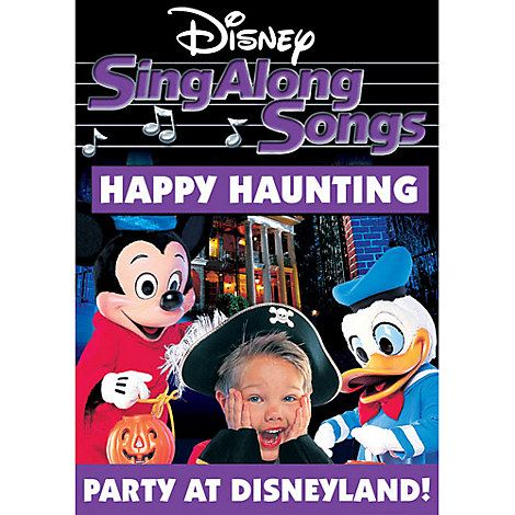 sing along songs happy haunting dvd