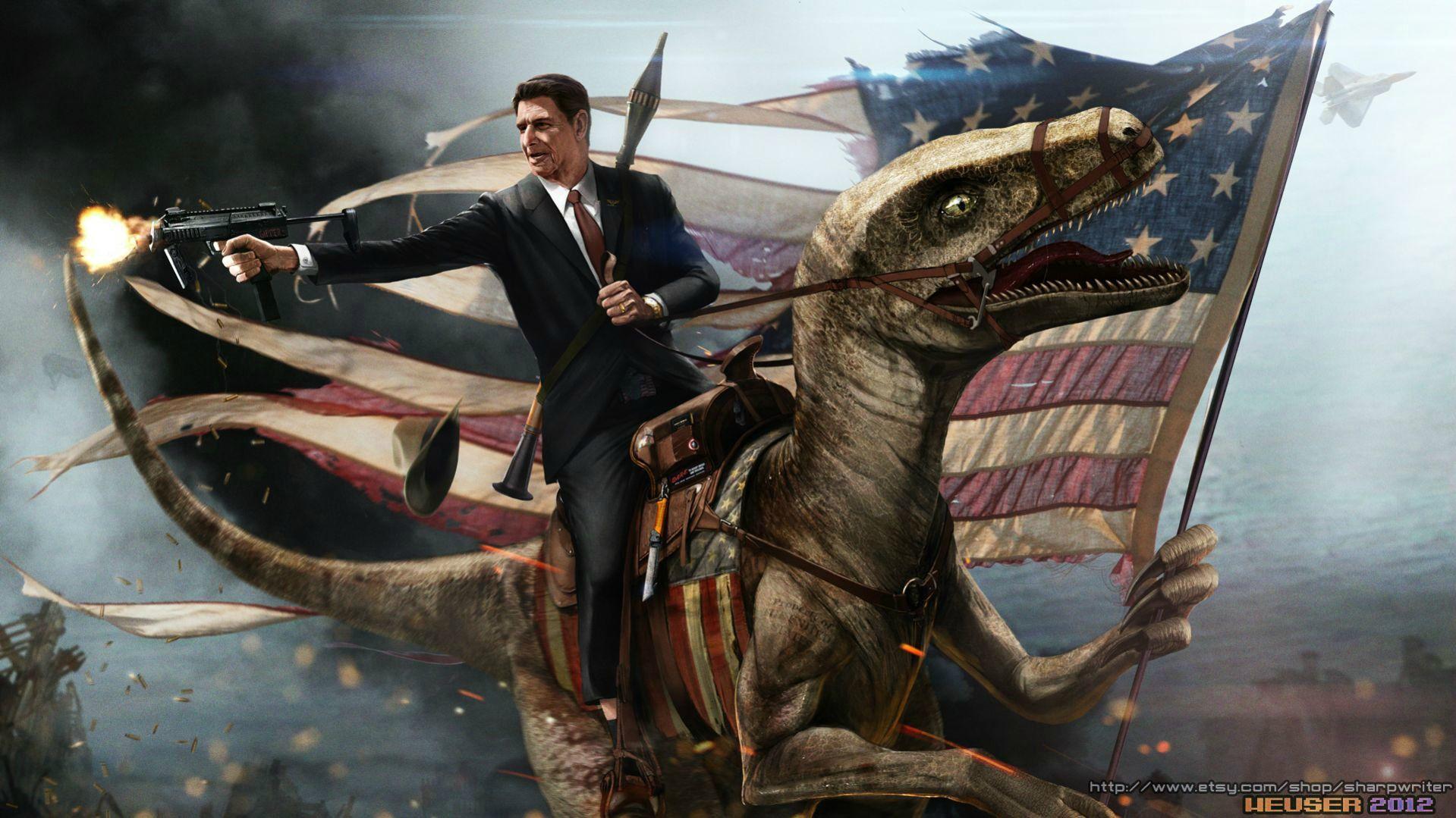 Ronald Reagan iPhone Wallpaper ID