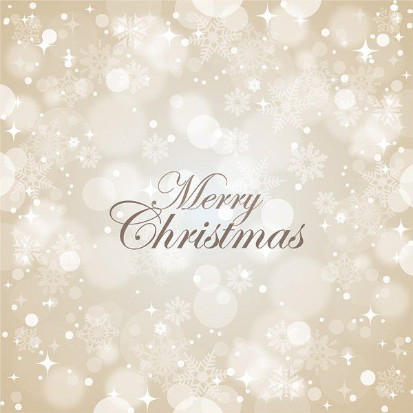 Merry Christmas Vector Graphic — newsletter, snowflakes, greeting, holiday, elegant, winter, snow, card