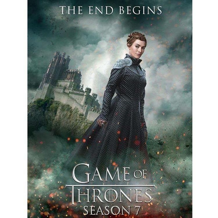 Game of thrones fan poster !