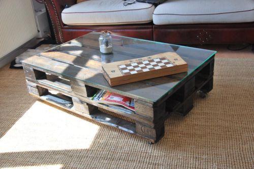 europalette wohnzimmertisch palettentisch couchtisch europalette paletten tisch. Black Bedroom Furniture Sets. Home Design Ideas