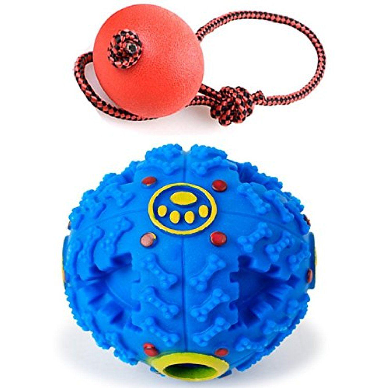 Dog Toys Ball Tianta Rubber Iq Treat Ball Dog Food Dispenser