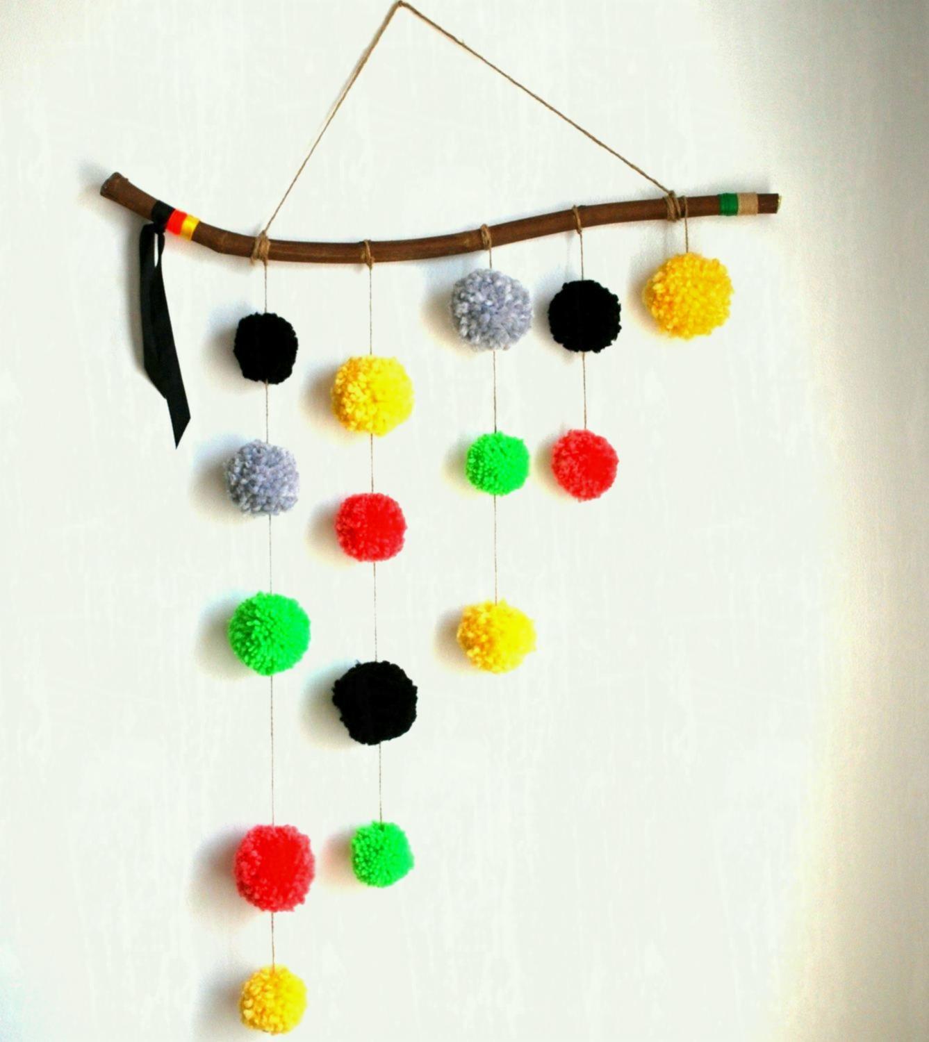 Terrific Wall Hanging Ideas With Waste Material For School