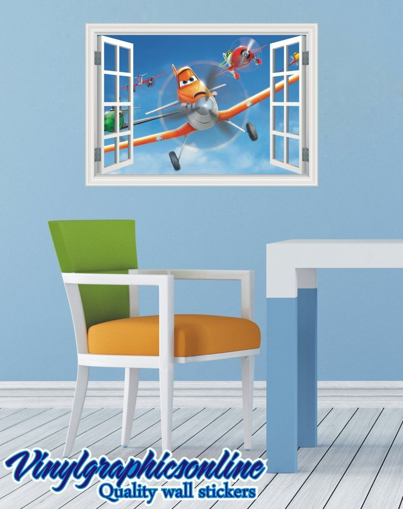 Disney planes dusty and friends colour magic window image wall disney planes dusty and friends colour magic window image wall sticker mural 76 amipublicfo Image collections