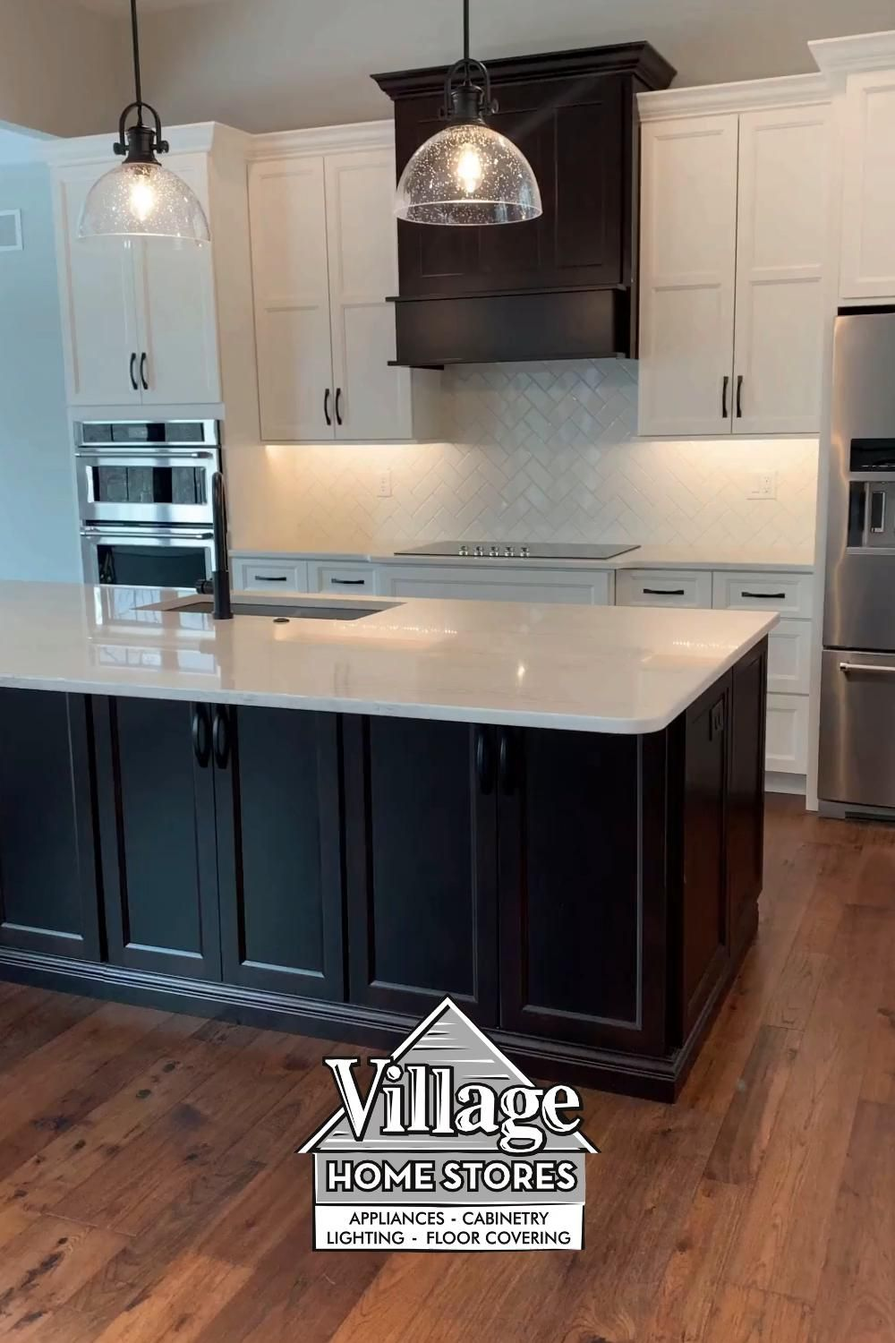 Ivory and Java kitchen With Cambria Quartz