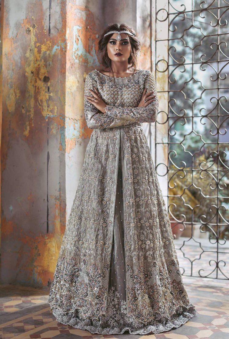 Pakistani couture Umsha by Uzma Babar Amoré Bridal S/S 2017 ...