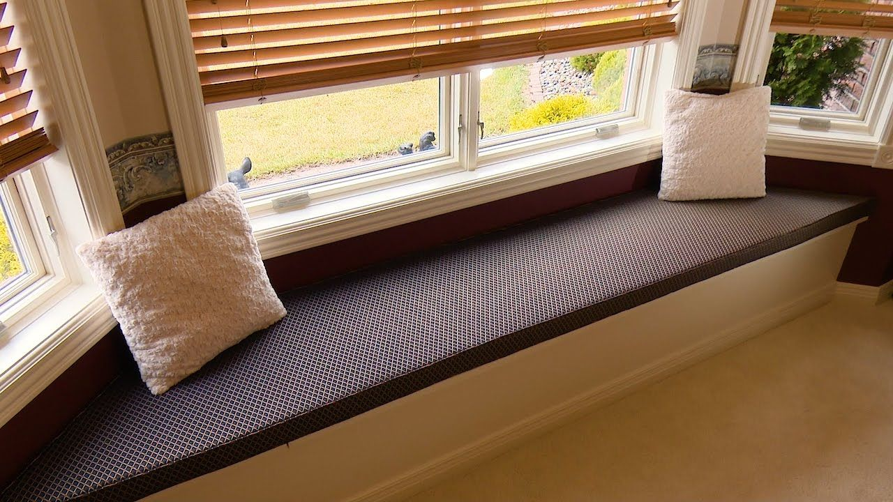 Make Your Own Window Seat Bench